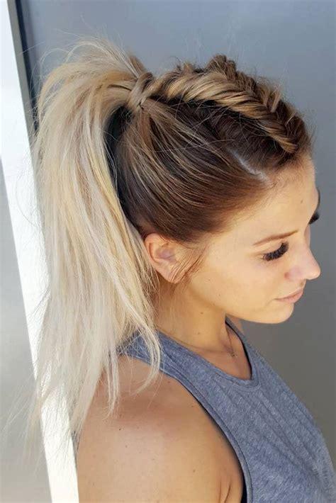 easy hairstyles  spring break hair