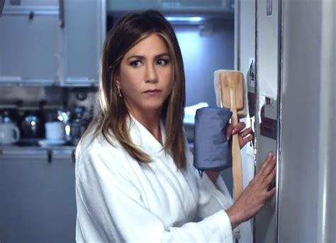aniston shower aniston wakes up to comfort and luxury on