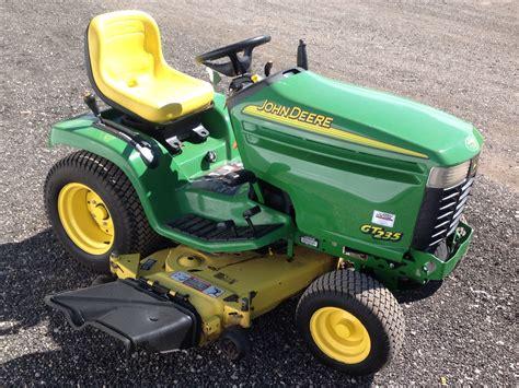 Deere Mower Decks Used by Deere Gt235 Lawn Tractor Mower 48 Quot Deck Ebay