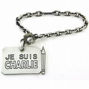 Porte Clé Femme Original : porte cl s argent je suis charlie d 39 or et d 39 argent ~ Teatrodelosmanantiales.com Idées de Décoration