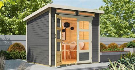 Kleines Holz Gartenhaus by Gartenhaus Ganz Einfach Selber Bauen Obi Gartenplaner