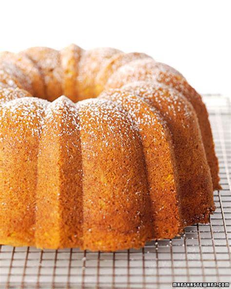 spicy pumpkin bundt cake recipe video martha stewart