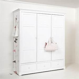 Kleiderschrank Weis : oliver furniture 3 t riger kleiderschrank wei hoch ~ Pilothousefishingboats.com Haus und Dekorationen