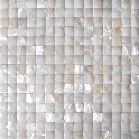 of pearl tile backsplash sea shell mosaic bathroom