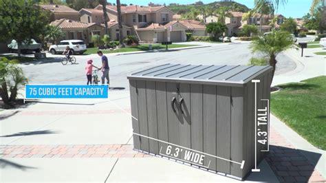 lifetime horizontal storage shed rough cut verison model