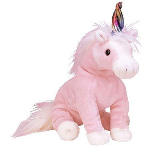 ty beanie buddy charmer the pink unicorn 12 inch