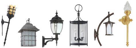Rustikale Außenbeleuchtung, klassisch und historisch