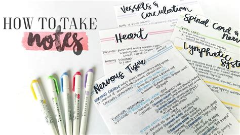 How To Take Awesome Notes & Study Effectively! Study