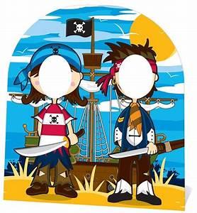 Little Pirates friends CHILD SIZE CARDBOARD STAND-IN