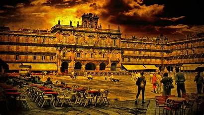 Salamanca Espana Spain Wallpapers Background Definition Abyss