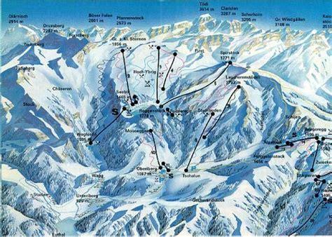 hoch ybrig ski resort guide location map hoch ybrig ski