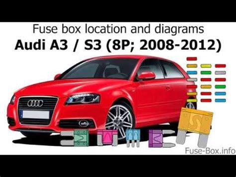 Fuse Box Location Diagrams Audi