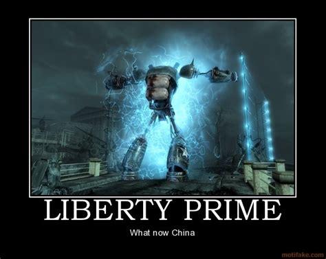 Liberty Prime Meme - liberty prime demotivational pinterest