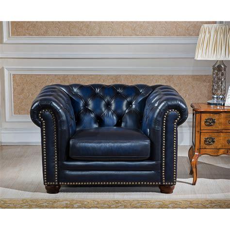 Original Leather Sofa Amax Nebraska Chesterfield Genuine Leather Sofa Loveseat