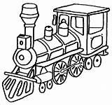 Coloring Caboose Getcolorings Train Printable sketch template