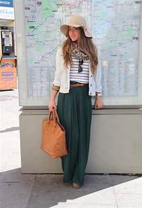 20 Different Ways to Wear a Maxi Skirt | Styles Weekly
