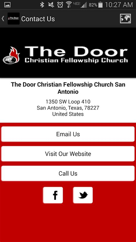 the door christian fellowship the door cfc san antonio android apps on play