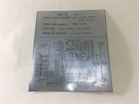 Wiring Diagram Label Tray Decal Johnny Vintage