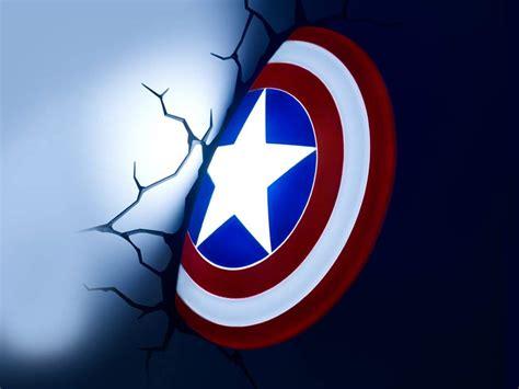 captain america shield 3d led light buy it now