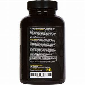 Calcium Carbonate 1200mg With Vitamin D 25mcg 1000iu The Best Calcium Supplement For Women And M