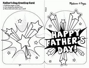 Free Printable Fathers Day Cards To Color - Coloring Home