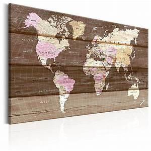 Carte Du Monde En Liège : nouveaute tableau liege avec un vrai ch ssis bois 60x40 ~ Melissatoandfro.com Idées de Décoration