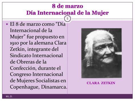 Resumen 8 De Marzo by 8 De Marzo D 237 A Internacional De La Mujer En El Ies