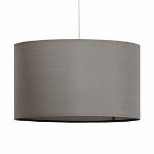 Abat Jour 50 Cm : lampe suspension avec abat jour fidelio 50cm gris ~ Teatrodelosmanantiales.com Idées de Décoration