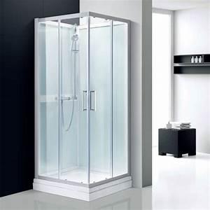cabines de douche comparez les prix pour professionnels With cabine douche 80x80 porte coulissante