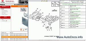 Citroen Spare Parts Catalog  Workshop Service Manual