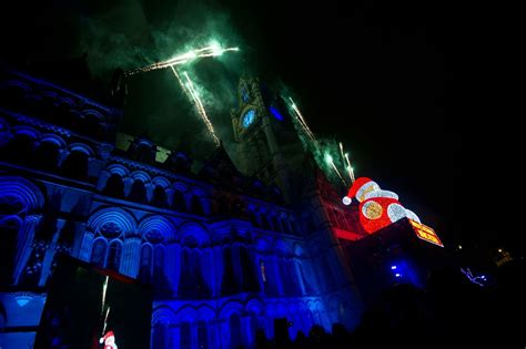 manchester lights switch on 2016 featuring