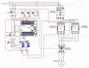 Electrical Wiring Diagram Forward Reverse Motor Control