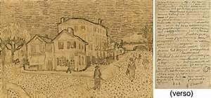 la maison de vincent a arles recto an autograph letter With peinture d une maison 2 vincent van gogh la maison jaune
