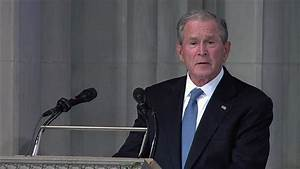 READ: Former President Bush's eulogy for Sen. John McCain