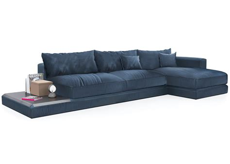 calligaris chaise calligaris kora chaise sofa inlcuding leather tray