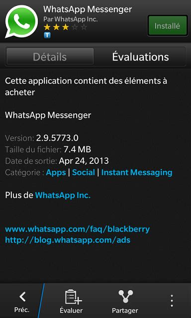 whatsapp update available to support bb10 1 and q10 blackberry forums at crackberry