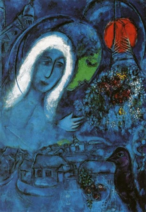 time lovers  russian born marc chagall