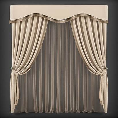 3d Curtain Models Cgtrader Low Poly Furniture