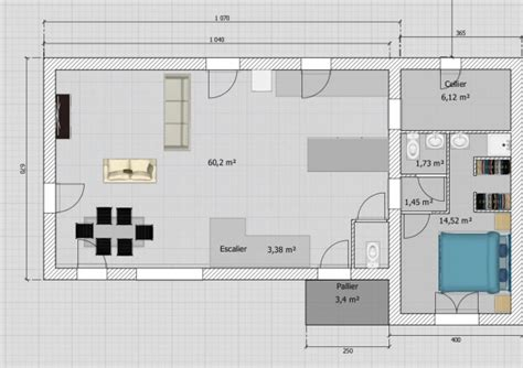 cout pour transformer un garage en chambre maison de 110m avec étage sur terrain de 450m garage
