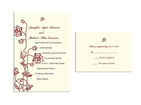 rsvp cards for weddings wording wedding invitations response cards wedding invitations