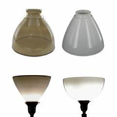 lamp parts lighting parts chandelier parts torchiere With floor lamp reflector shade glass