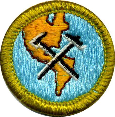 boy scout geology merit badge clinic