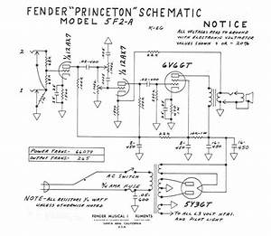 Fender Lead 2 Wiring Diagram