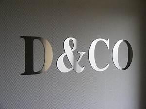 Lettre Decorative Cuisine : decoration lettre murale bricolage maison et d coration ~ Teatrodelosmanantiales.com Idées de Décoration