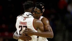 Maryland's Bruno Fernando and Jalen Smith present a tall ...