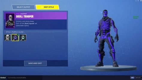 purple glow skull trooper skin hits fortnite legit reviews