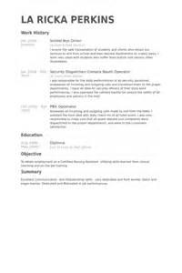 resume school driver school driver resume sles visualcv resume sles database