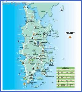 Thailand Map Tourist Attractions - ToursMaps.com