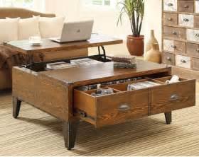 la table basse avec tiroir un meuble pratique et déco archzine fr