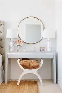Coiffeuse Moderne Avec Miroir : id es d co chambre coiffeuse moderne l 39 atelier agit ~ Farleysfitness.com Idées de Décoration